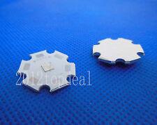 10pcs/lot 3w Violet UV LED 420-430nm high power led chip wite 20mm Star Base