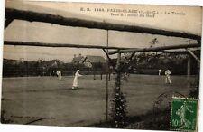 CPA PARIS-PLAGE-Le Tennis face á l'Hotel du Golf (267958)