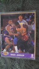 Carte de basketball de 20x25 cms de Magic Johnson!