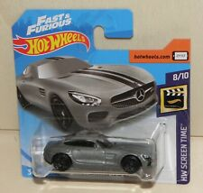 2019 Hot Wheels '15 MERCEDES-AMG GT Fast & Furious HW Screen Time 8/10 107 FYC95