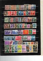 timbres Italie toutes périodes sur 5 pages d album