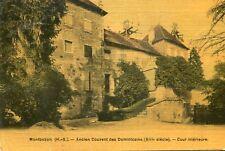 Carte MONTBOZON Ancien couvent des Dominicains Cour intérieure