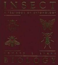 Insect Biology: A Textbook of Entomology, Evans, Howard E., Acceptable Book