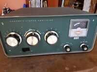 Vintage Heathkit SB 200 HF Ham Radio Linear Amplifier. WORKING GOOD