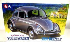Tamiya 24136 1/24 Scale 1966 Volkswagen 1300 Beetle Plastic Model Kit