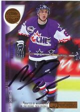 NATHAN PAETSCH MOOSE JAW AUTOGRAPH AUTO 01-02 UD CHL PROSPECTS #6 *33610