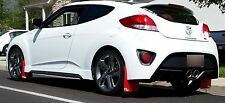 Rokblokz Rally Mud Flaps for the 12-16 Hyundai VELOSTER, fits Hyundai Veloster R