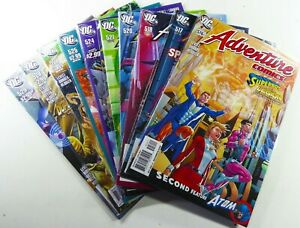 DC ADVENTURE COMICS (2010) #516-518 520-521 524-525 527-529 Lot VF/NM Ships FREE