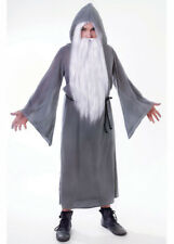 Adult Gandalf Style Grey Wizard Robe Costume DOES NOT INCLUDE WIG AND BEARD