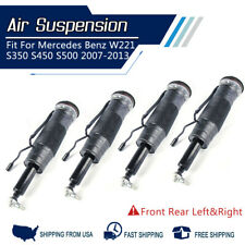 Full Set Rear Fits Mercedes Benz W221 Air Suspension w/ABC Struts Assembly 4PCS