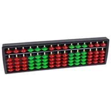 Educazione prescolare in plastica Abacus 15 cifre Perline PALLOTTOLIERE MATEMATICA Learning Aiuto