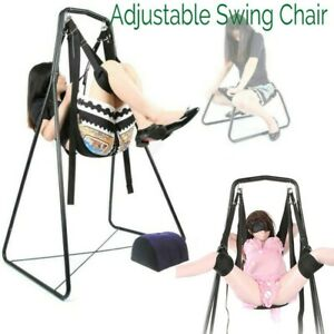 Loves Sex Swing Chair Stand with Pillow Detachable Adjustable Position Seat