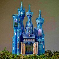 🏰 Disney Castle Collection Cinderella Light Up Castle Figurine Limited Edition
