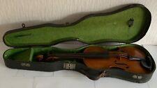 Antike Geige, mit Geigenkasten