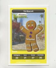 Carte Carrefour Dreamworks n° 24/216 - TIT BISCUIT - Shrek  (5346)