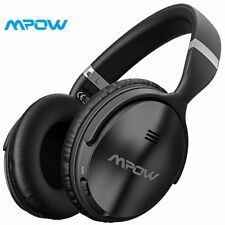 Mpow H5 Active Noise Cancelling Bluetooth Headphones Over Ear Stereo Wireless H