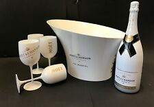 Moet & Chandon Ice Imperial Set 1,5l Magnum 4 Becher + Kühler 12% Vol.