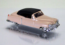 Busch 43421 Cadillac Modell 1952 Cabrio geschlossen Rot Rose Scale 1 87 NEU OVP