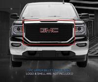 Fedar Main Upper Billet Grille Insert For 2016-2017 GMC Sierra 1500 - Black