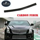 Fit for Cadillac CTS-V 2009-2015 Carbon Fiber Front Bumper Lip Center Spoiler