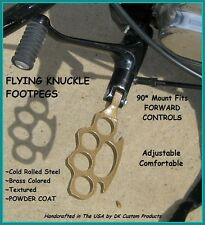 FLYING KNUCKLE FOOT PEGS FLOORBOARD HARLEY DAVIDSON