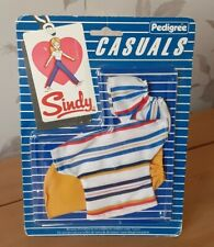 PEDIGREE SINDY DOLL 1984 'CASUAL OUTFIT' (REF 43003) COMPLETE & NEW ON CARD
