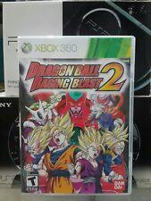 DRAGONBALL Z RAGING BLAST 2 II For Microsoft Xbox 360 Complete!!