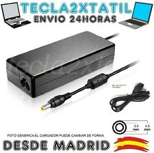 CARGADOR PARA PORTATIL hp pavilion serie 15 notebook pc 19,5V 3,33A 4,5 3,0 65W