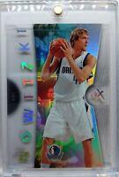 2006 07 06/07 FLEER EX Dirk Nowitzki ACETATE #7! Rare Premium! Mavericks