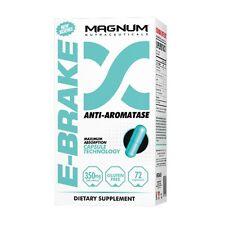 Magnum Nutraceuticals E-Brake 72 Anti-Estrogen Capsules Supplement for Men