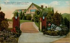 Mary Pickford-Douglas Fairbanks Residence Beverly Hills CA Postcard B29