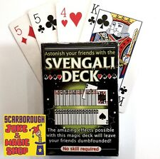 Magic Trick Short & Long Deck ~ Svengali Cards ~ Beginner Magician Card Tricks
