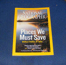 NATIONAL GEOGRAPHIC MAGAZINE OCTOBER 2006 - WORLD PARKS/U.S.SANCTUARIES/PARIS