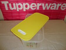 Tupperware Fridge Smart Large Container Yellow Lid *Great for Produce* - NEW