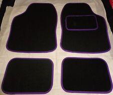 Car Mats Black and Purple trim mats for VW beetle Golf Polo Bora Passat Lupo