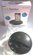 Dock Speaker for iPhone, iPod, & Other MP3 Devices