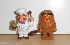 PVC figures Muppet Show SWEDISH CHEF / SWEETUMS Schleich Toy Jim Henson Muppets