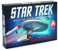Star Trek Build the USS Enterprise Paper Model Kit Brand New Open Box