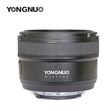 YONGNUO Standard Prime Auto Focus Lens YN 50MM F/1.8 With Free Gift For Nikon