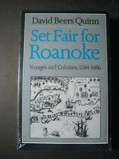 SET FAIR FOR ROANOKE Voyages and Colonies, 1584-1606, New, Sealed in plastic