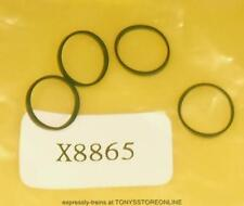 hornby oo new spares x8865 1x pack of 4 traction tyres  (10.5mm)