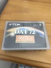 TDK DAT72 4mm DDS5 Cartridge