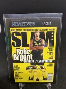 2020 Panini NBA Hoops Kobe Bryant Slam Insert #19