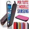 FLIP COVER + Pellicola Custodia chiusura magnetica slim libro per Samsung Galaxy