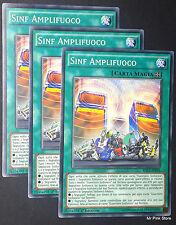 Set 3X SINF AMPLIFUOCO Symph Amplifire RATE-IT092 Magia Comune Italiano YUGIOH
