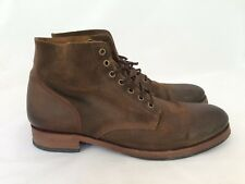 Men's Rogue Burge Brown Oiled Suede Leather Boots size 11.5