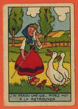 Chromo - Chicorée Williot - Devinette - J'ai perdu une oie.. - Réf.223