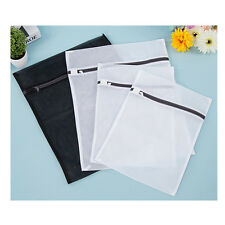 4 PCS Mesh laundry Bags Bra lingerie Protection Washing Drying Bag Black White