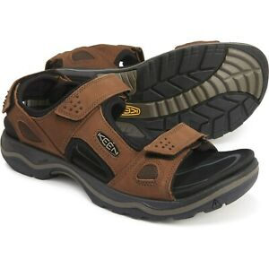 New Men`s Keen Rialto II 3-Point Sandals - Nubuck 1021373