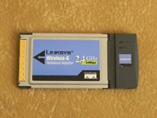 Linksys Wireless-G Notebook Adapter 2.4 Ghz 54 Mbps Model N0.: Wpc54G